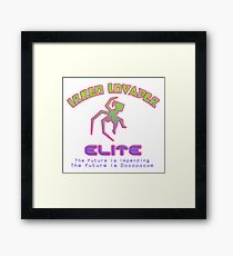 Irken Invader Elite, version 2 Framed Print