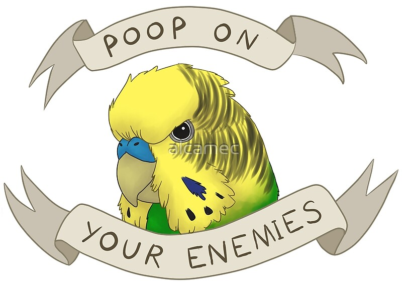 Poop On Your Enemies | Art Print