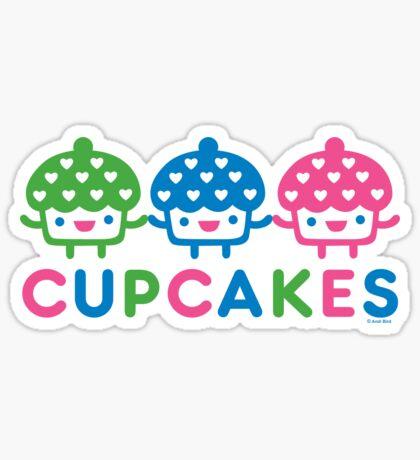 cupcake Fun light Sticker