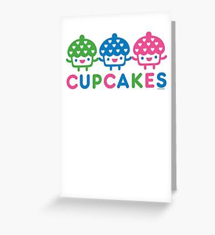 cupcake Fun light Greeting Card