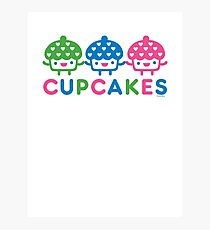 cupcake Fun light Photographic Print