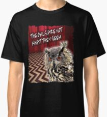 Twin Peaks..The Owls Classic T-Shirt