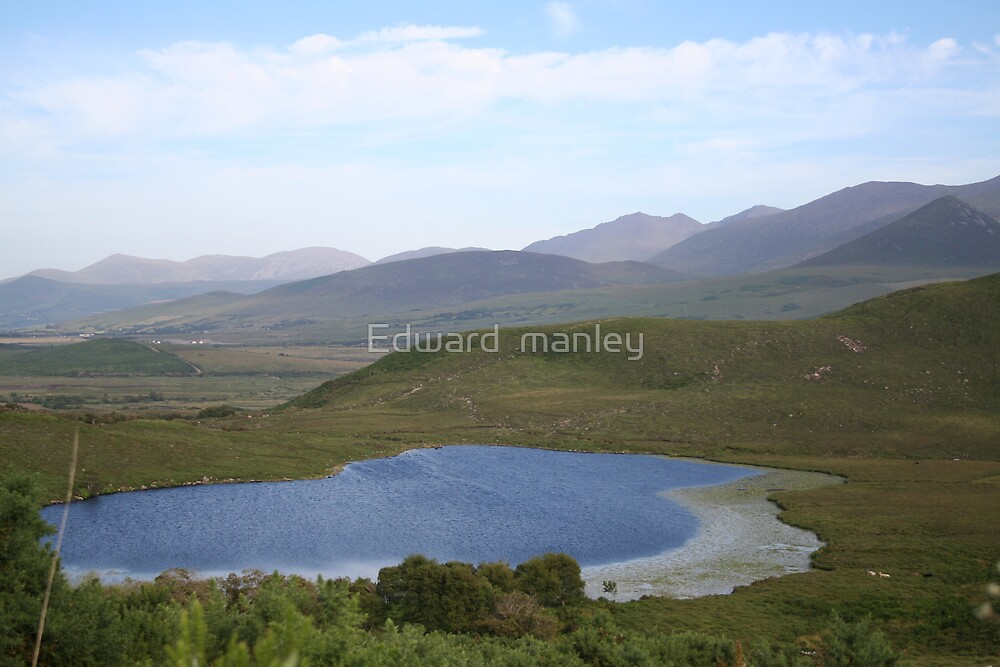 Ireland landscape by Edward  manley