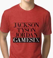 Jackson Tyson Jordan Gamesix - Jay-z Bars Tri-blend T-Shirt