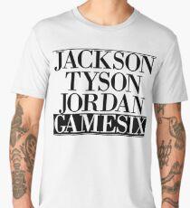 Jackson Tyson Jordan Gamesix - Jay-z Bars Men's Premium T-Shirt