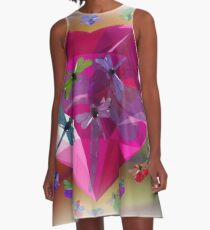 THE HEART OF A DRAGONFLY A-Line Dress