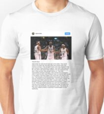 Rajon Rondo Chicago Bulls Instagram Post Leadership Unisex T-Shirt