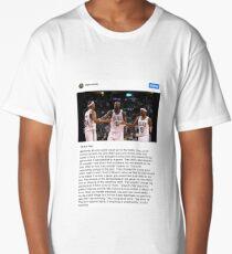 Rajon Rondo Chicago Bulls Instagram Post Leadership Long T-Shirt