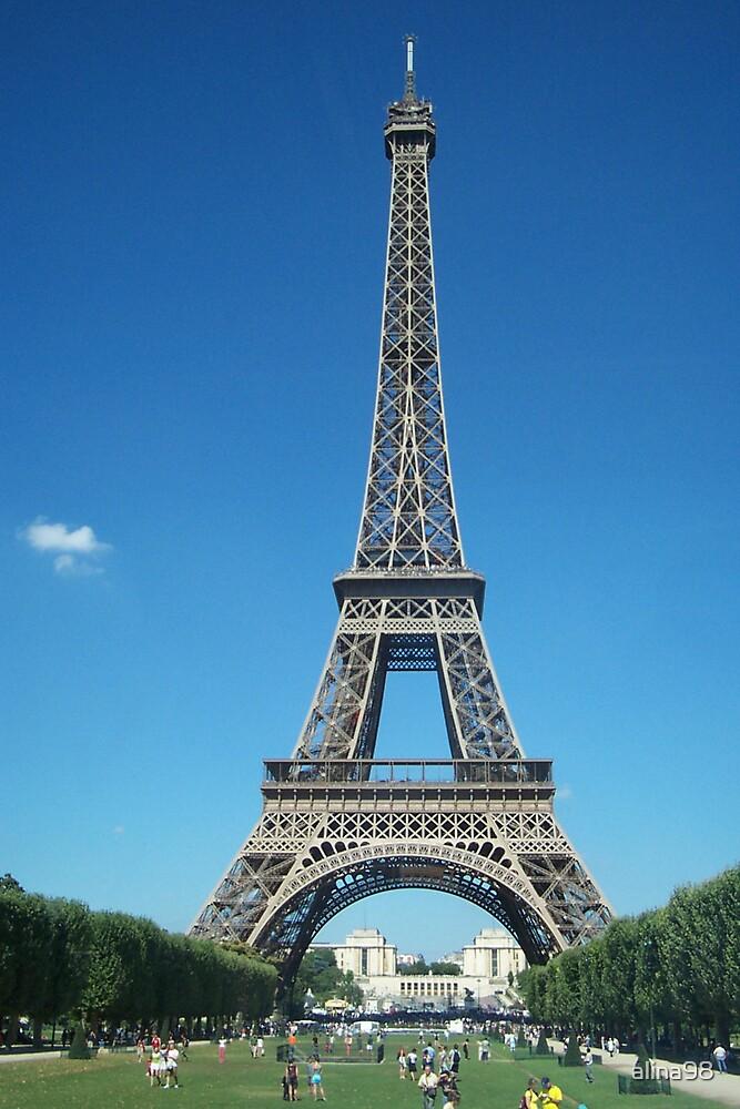 Eiffel Tower by alina98