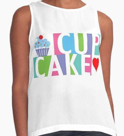 Cupcake love pink 4 Contrast Tank