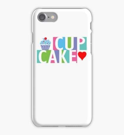Cupcake love pink 4 iPhone Case/Skin
