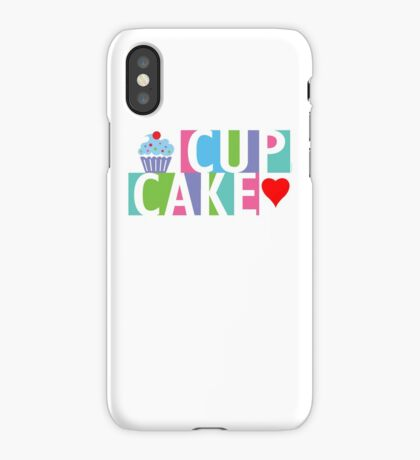 Cupcake love pink 4 iPhone Case