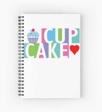 Cupcake love pink 4 Spiral Notebook