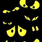 Spooky Eyes by Carlos Phillips