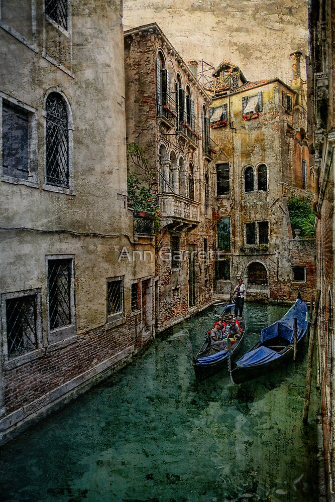Venice Backwater by Ann Garrett