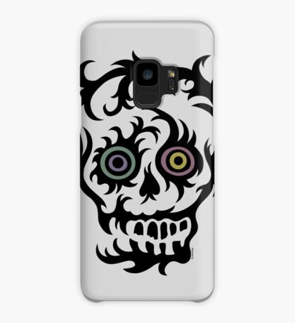 Skull Tattoo - on lights Case/Skin for Samsung Galaxy