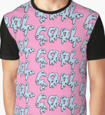 (Psychedelic) Pink and Cool Graphic T-Shirt