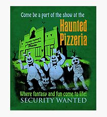 The Haunted Pizzeria Photographic Print