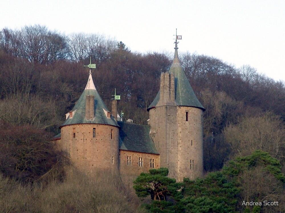 Fairy tale castle by Andrea Scott