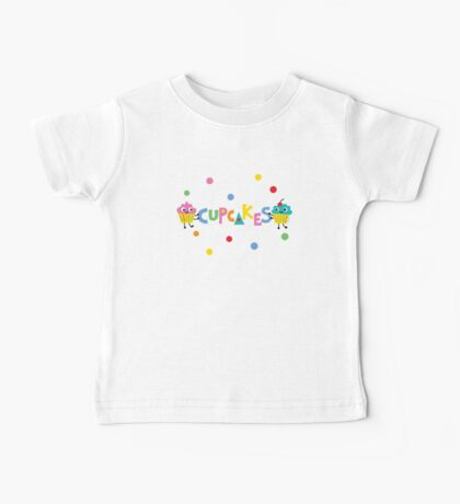 I love cupcakes banner Kids Clothes