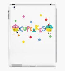 I love cupcakes banner iPad Case/Skin
