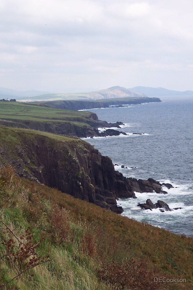 Dingle Coast Line- Ireland by DECookson