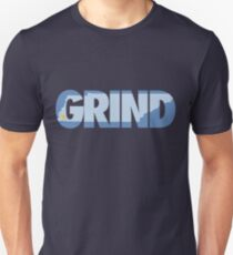 Grind State (Light Blue) Unisex T-Shirt