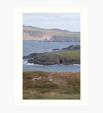 Dingle Coast Line 2 - Ireland Art Print