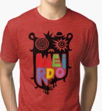 Big Weirdo - multi Tri-blend T-Shirt