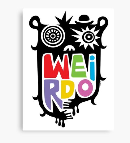 Big Weirdo - multi Canvas Print