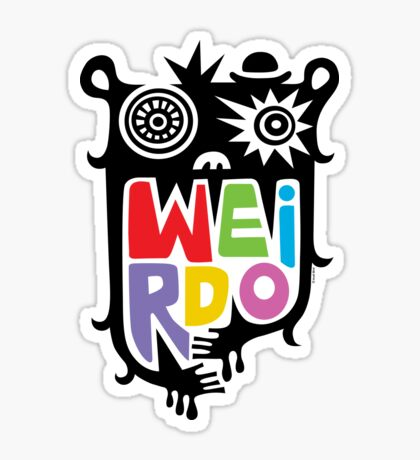 Big Weirdo - multi Sticker