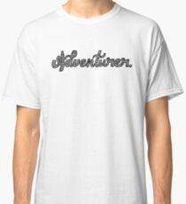 Adventurer - Black Font  Classic T-Shirt