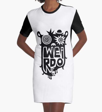 Big weirdo - on light colors Graphic T-Shirt Dress