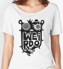 Big weirdo - on light colors Women's Relaxed Fit T-Shirt