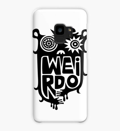 Big weirdo - on light colors Case/Skin for Samsung Galaxy