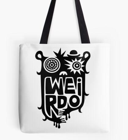 Big weirdo - on light colors Tote Bag