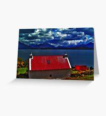 My Dream House,  Applecross Peninsula Greeting Card