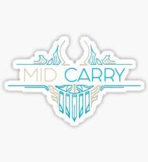 Mid Carry - League of Legends LOL Penta Sticker