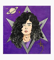 The Wizard- Jimmy Page Photographic Print
