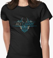 AD Carry - League of Legends LOL Penta Womens Fitted T-Shirt