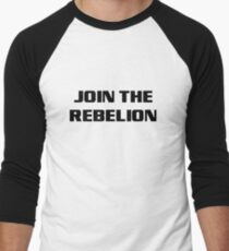 JoinTheRebelion Men's Baseball ¾ T-Shirt