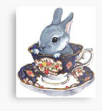 Heirloom Bunny Metal Print