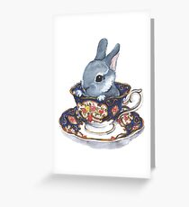 Heirloom Bunny Greeting Card