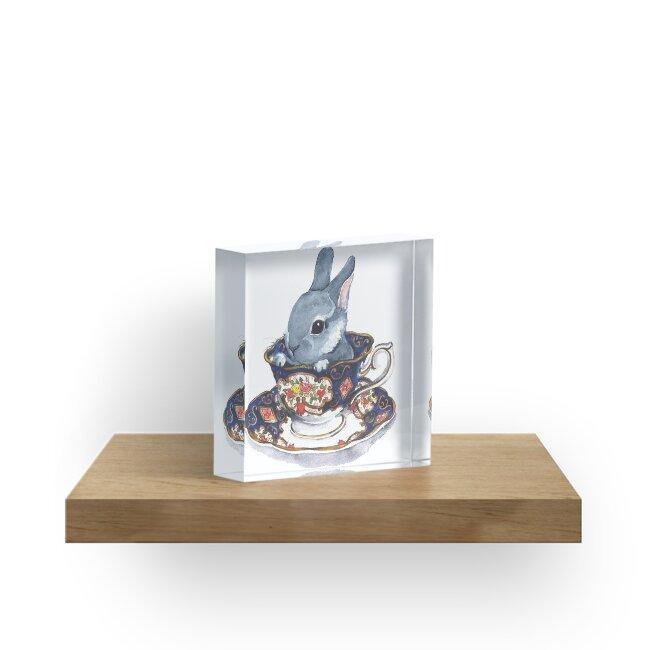 Heirloom Bunny by Denise Faulkner