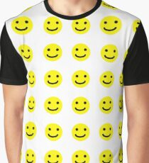 Smiley Face Graphic T-Shirt