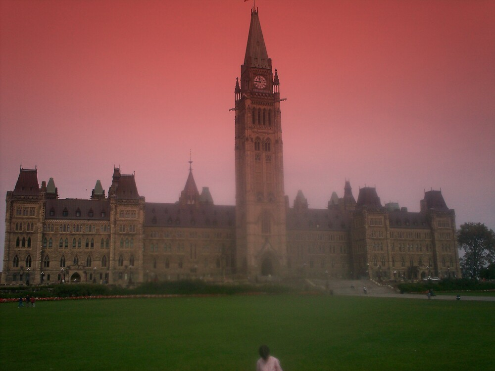 parliment hill by Jeremie gaudreault