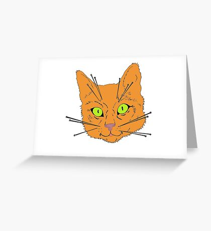 Cat's Whiskers Greeting Card