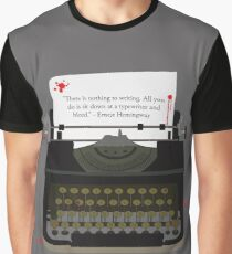Nothing To Writing Graphic T-Shirt