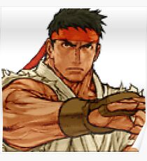 street fighter - ryu Poster
