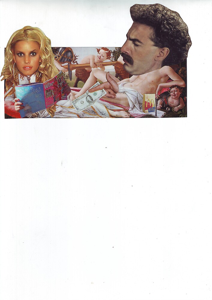Borats Bribe by atomikboy